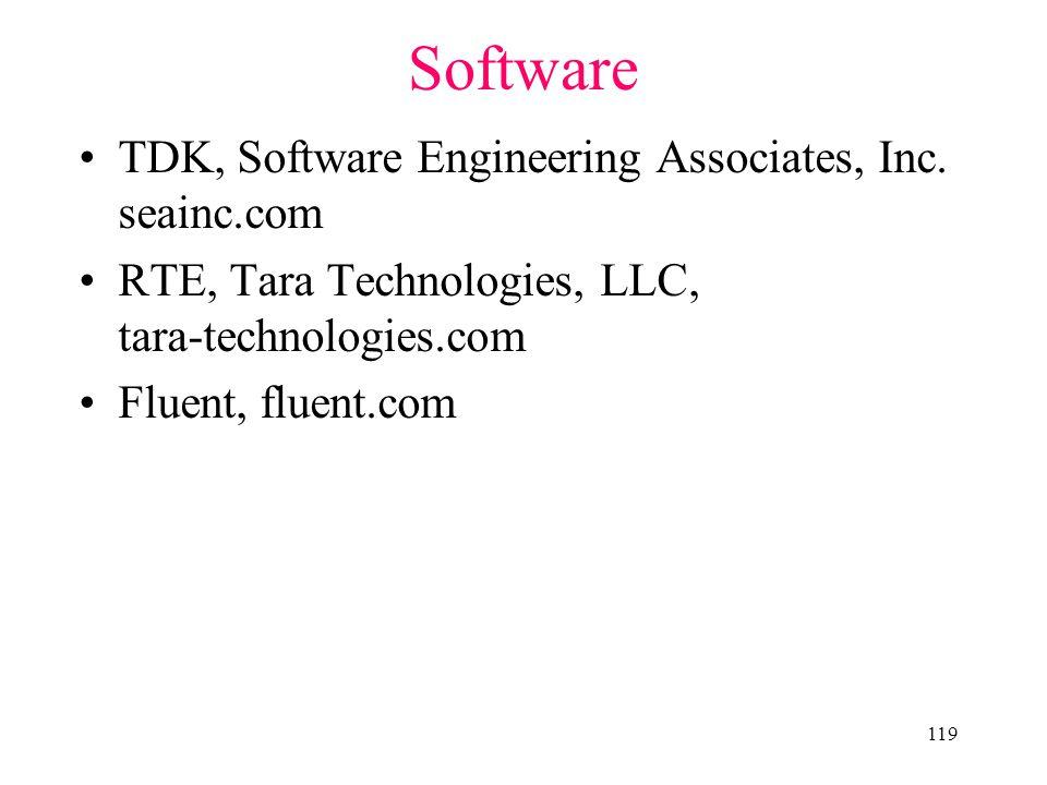 119 Software TDK, Software Engineering Associates, Inc.