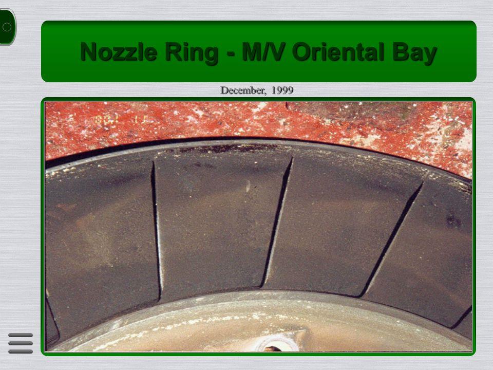 Nozzle Ring - M/V Oriental Bay