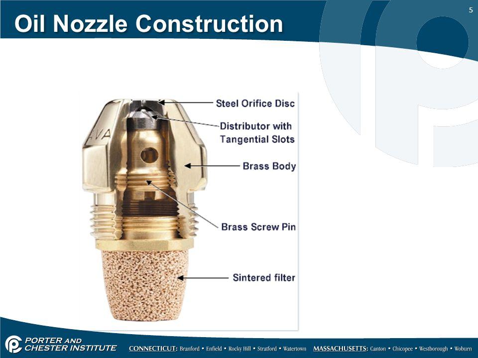 5 Oil Nozzle Construction