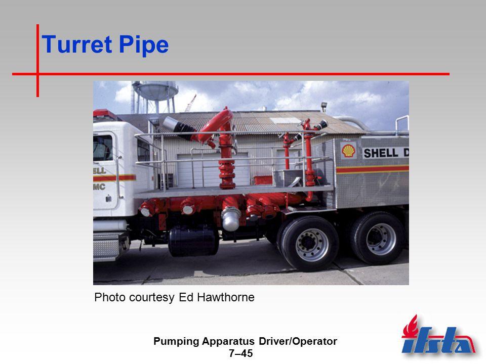 Pumping Apparatus Driver/Operator 7–45 Turret Pipe Photo courtesy Ed Hawthorne