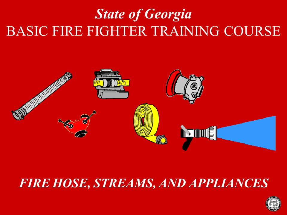 Fire Hose, Appliances and Streams 2 FIRE STREAM A stream of water or other extinguishing agent from the time it leaves the nozzle or other discharge orifice until it reaches the desired point in the proper configuration