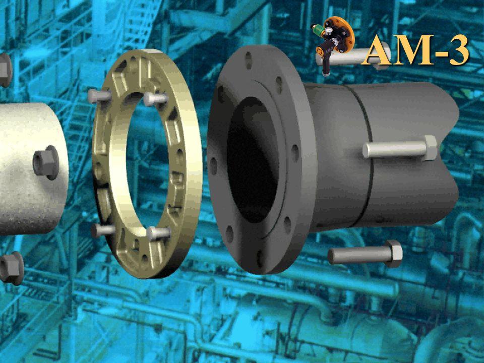 Canadian Distributor: CanRep Inc. 450 434-9898 AM-3 Flange Kit System  AM-3 hand piece  Flange Head  Adaptor Ring  Pressure relief valve  Pressur