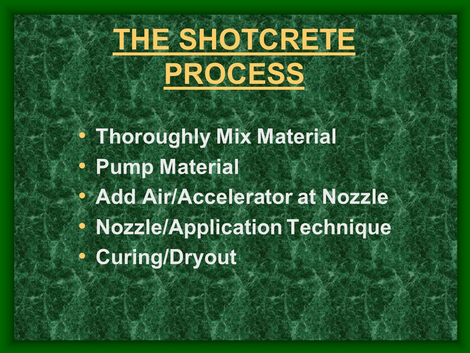 ShotcreteSystem 750 cfm air mixer/pump accelerator pump NO DUST, Minimal Rebound at Nozzle Dry Material + Measured Water Added to Mixer