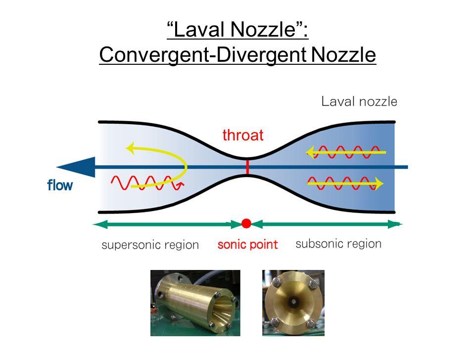 throat Laval Nozzle : Convergent-Divergent Nozzle