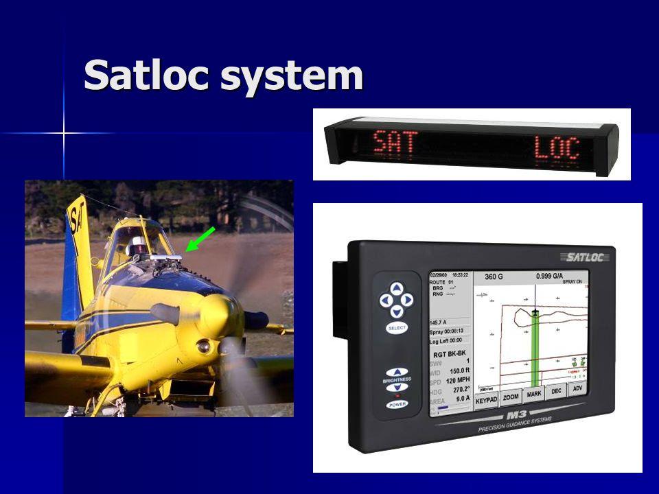 Satloc system