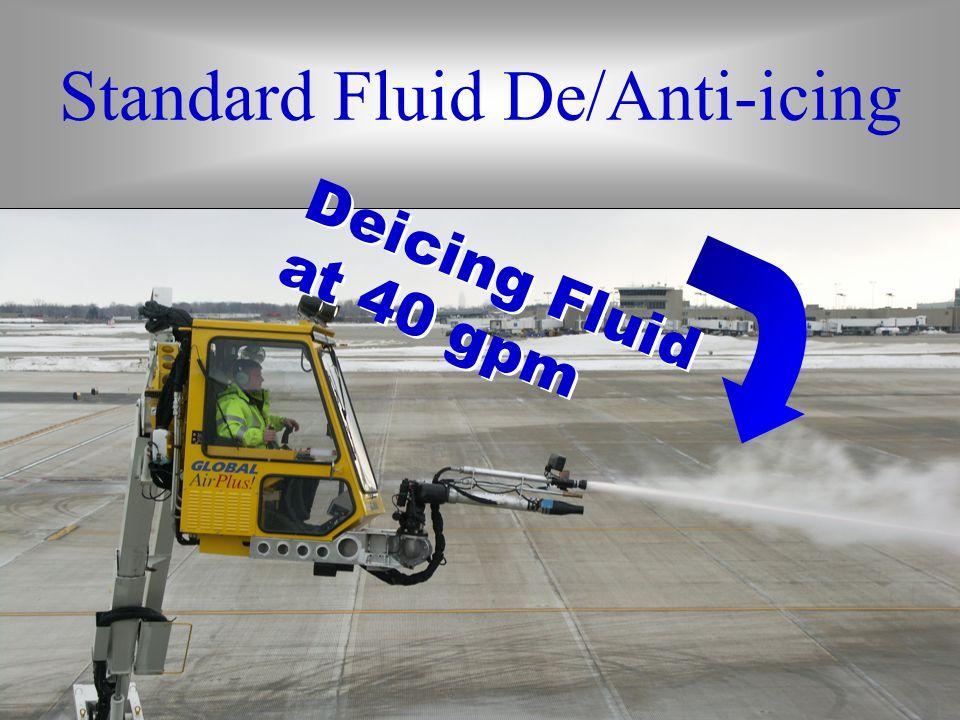 Standard System Standard Fluid De/Anti-icing Deicing Fluid at 40 gpm Deicing Fluid at 40 gpm