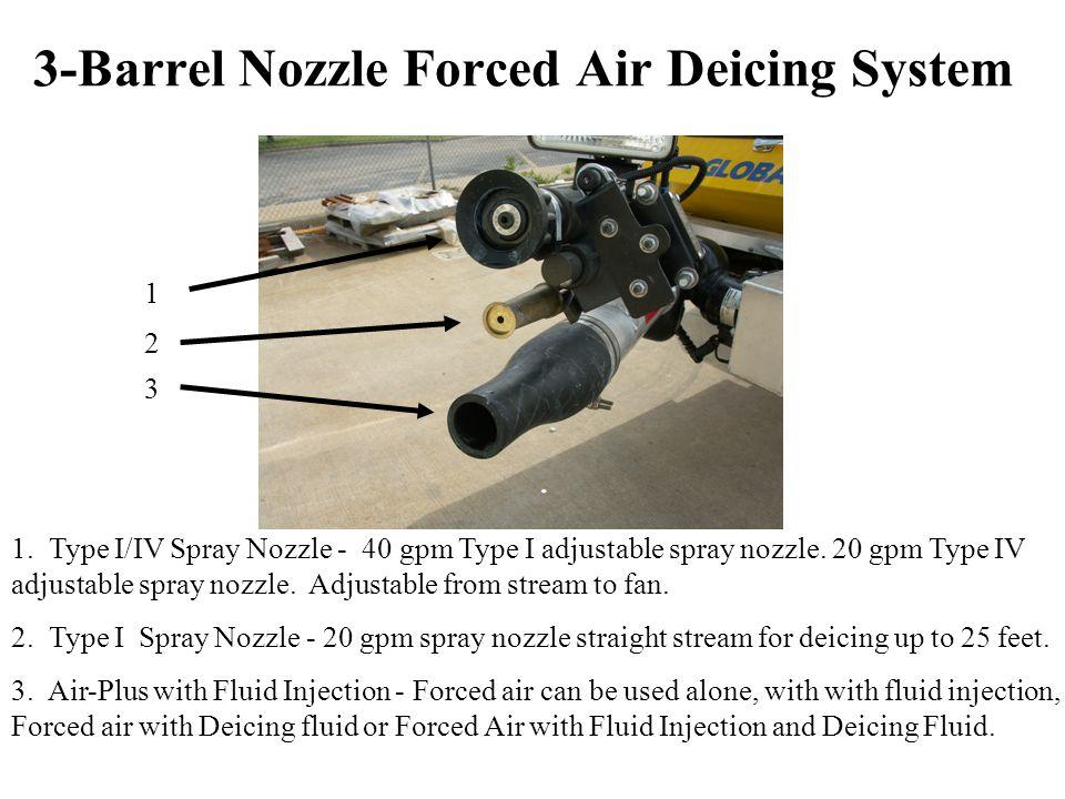 1.Type I/IV Spray Nozzle - 40 gpm Type I adjustable spray nozzle.