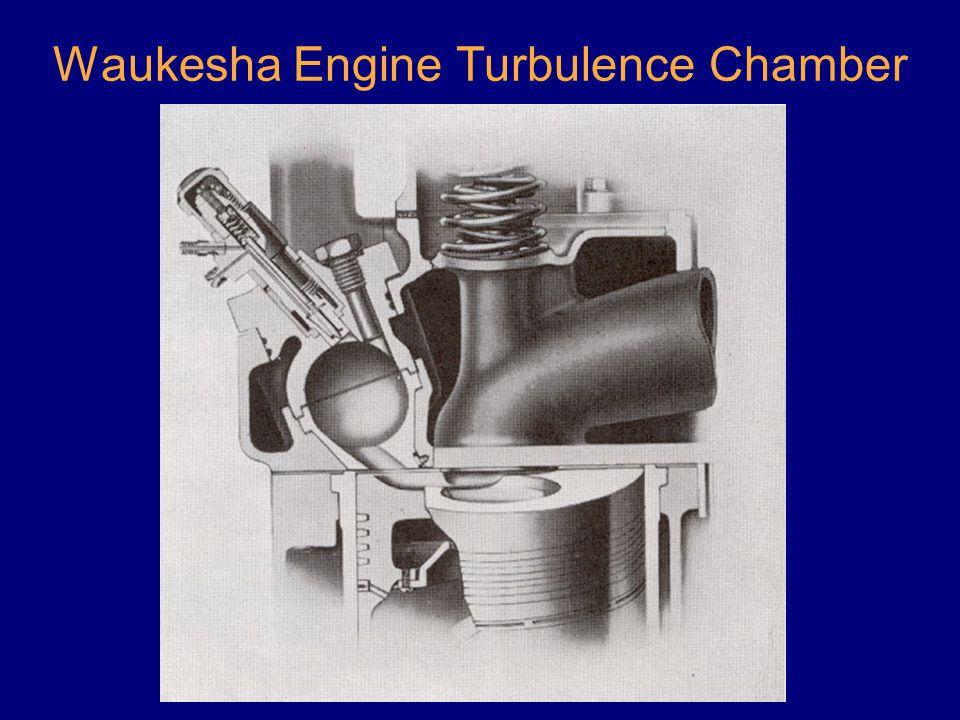 Waukesha Engine Turbulence Chamber
