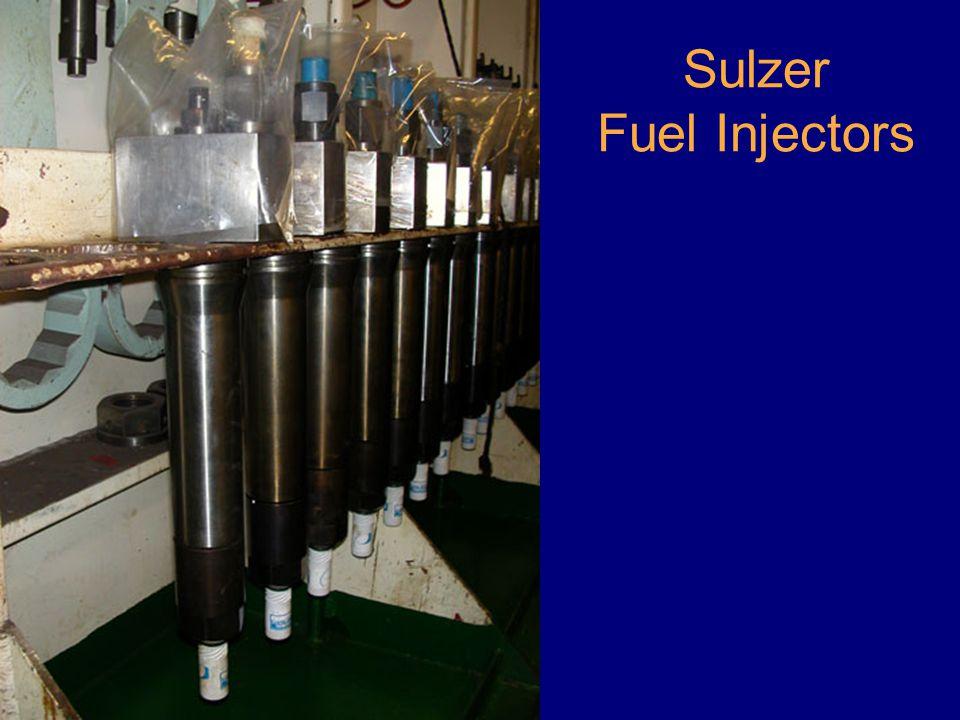 Sulzer Fuel Injectors