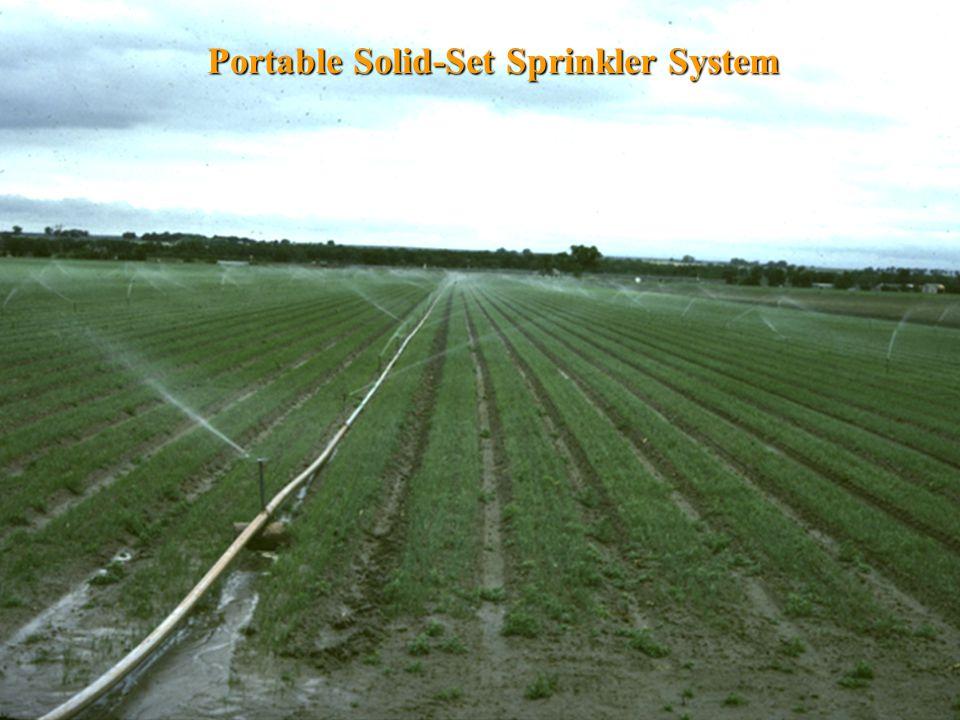 Portable Solid-Set Sprinkler System