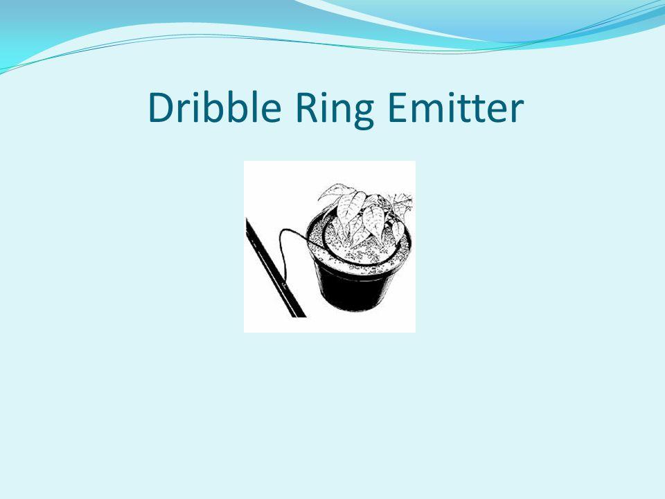 Dribble Ring Emitter