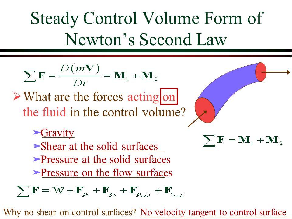 Example: Energy Equation (pressure at pump outlet) datum 2 m 4 m 50 L/s h P = 10 m The total pipe length is 50 m and is 20 cm in diameter.