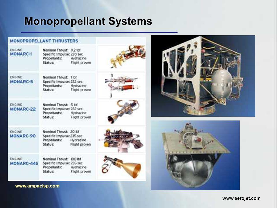 Monopropellant Systems www.ampacisp.com www.aerojet.com
