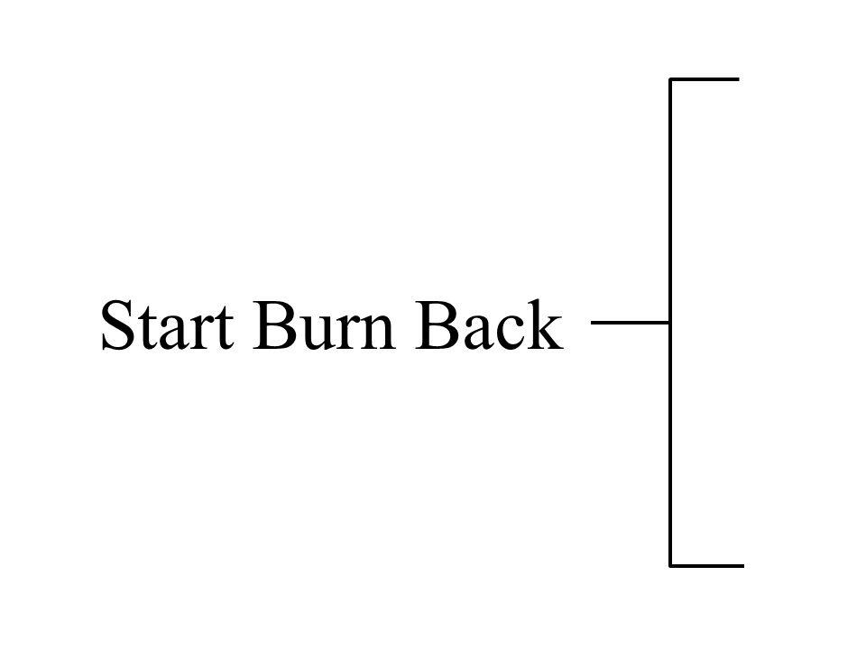 Start Burn Back