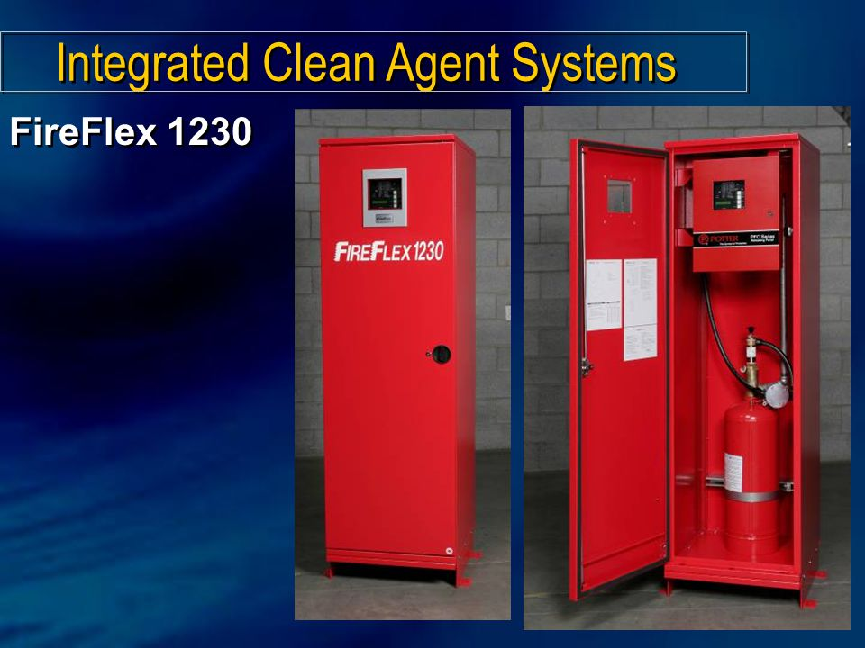 Integrated Clean Agent Systems FireFlex 1230