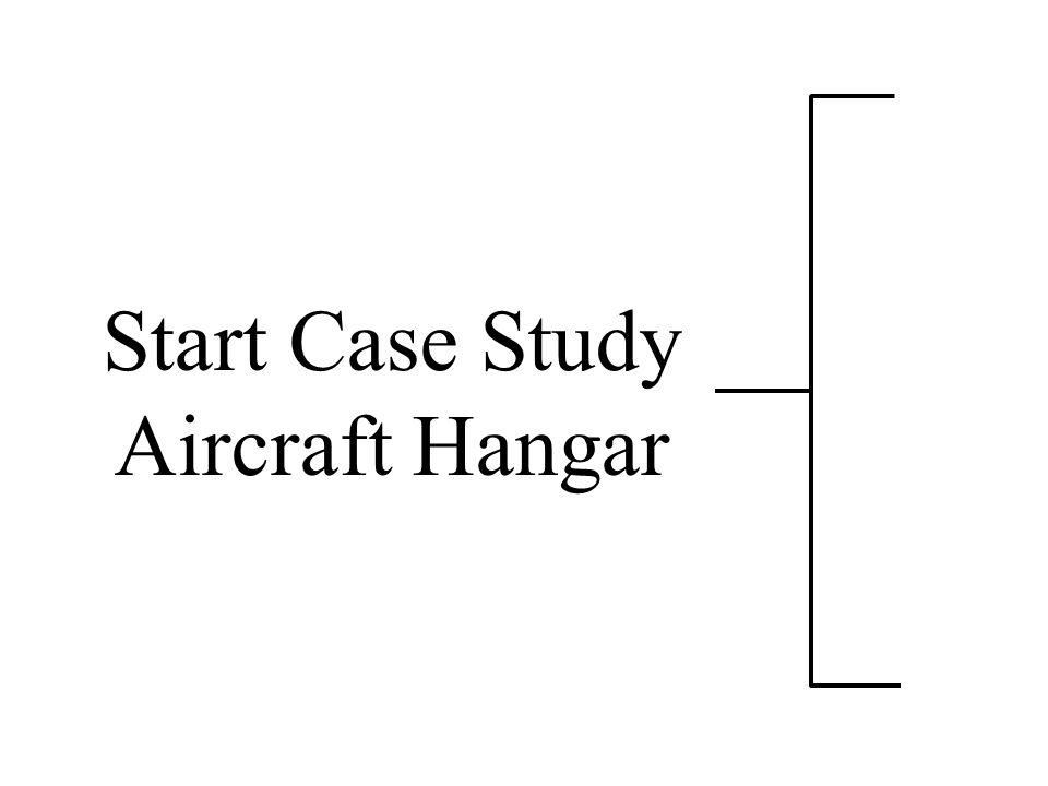 Start Case Study Aircraft Hangar