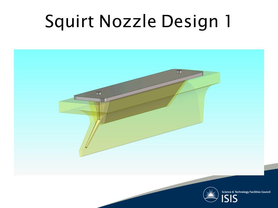Squirt Nozzle Design 1