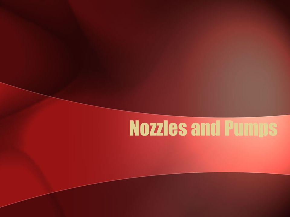 Nozzles and Pumps