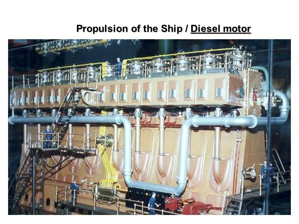 Propulsion of the Ship / Diesel motor Ch1. Propulsion of the Ship / Diesel motor
