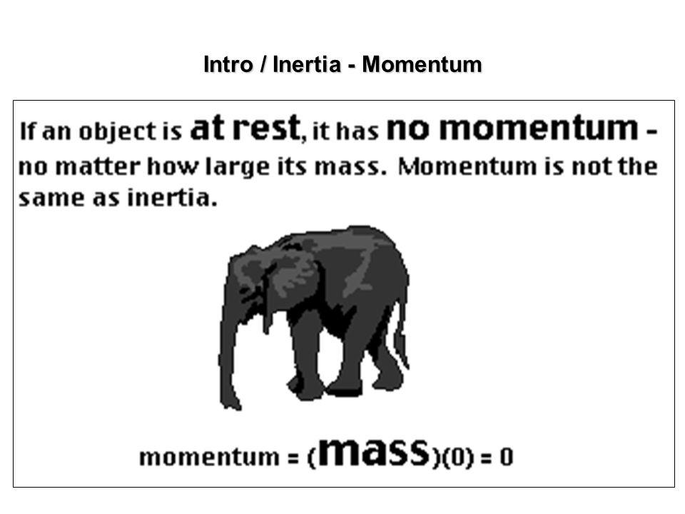 Intro / Inertia - Momentum