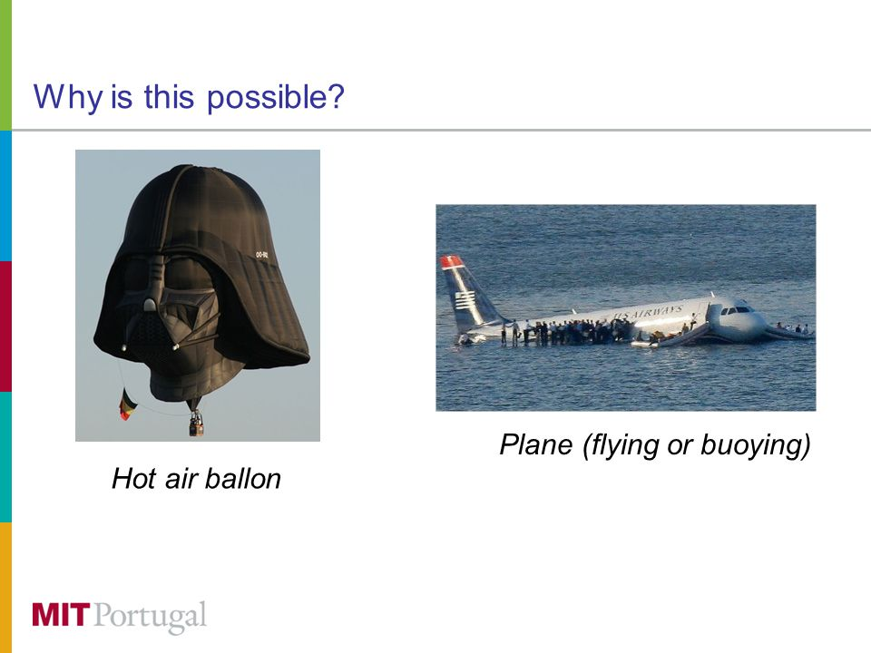 Why is this possible Hot air ballon Plane (flying or buoying)