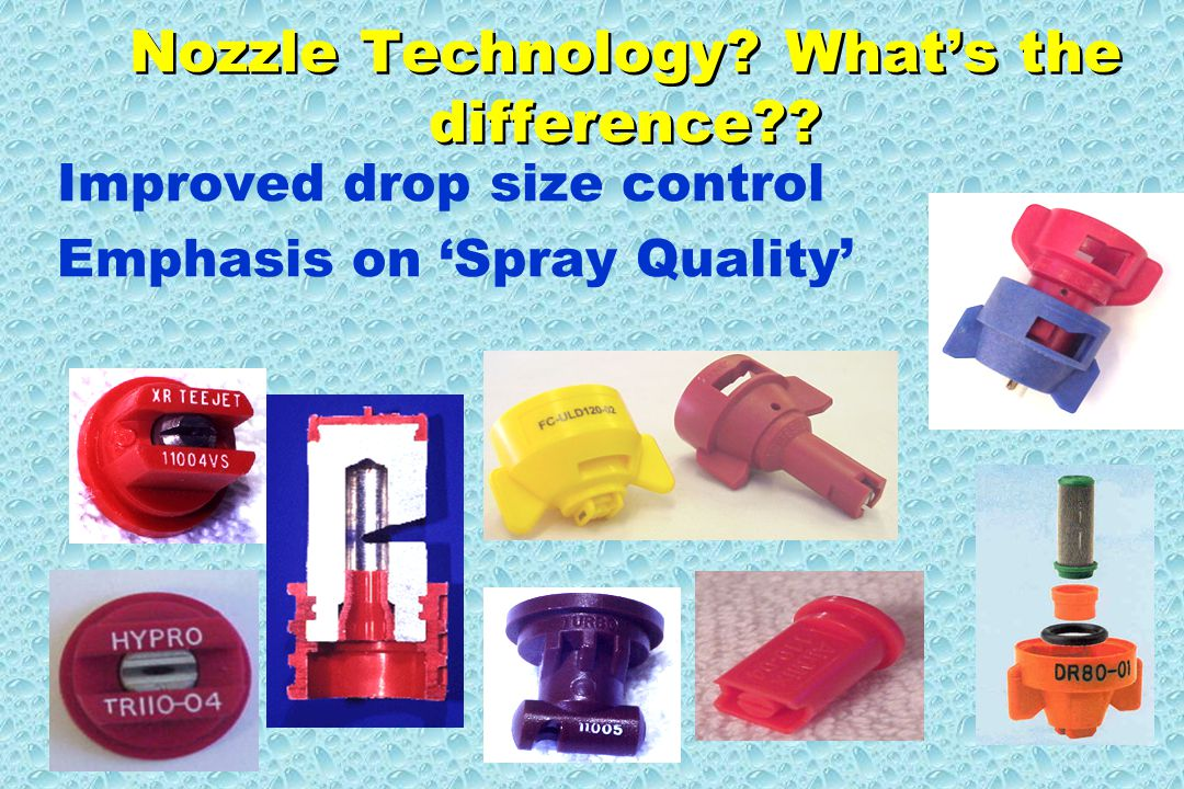 Nozzle Technology. What's the difference .