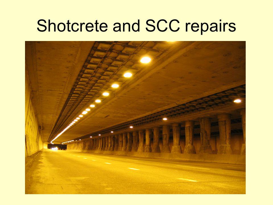 Shotcrete - Definition Shotcrete — Mortar or concrete pneumatically projected at high velocity onto a surface - ACI 506R-05, Guide to Shotcrete