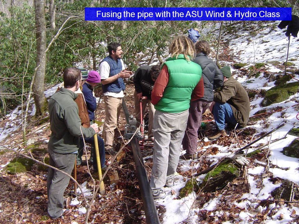 Fusing the pipe with the ASU Wind & Hydro Class