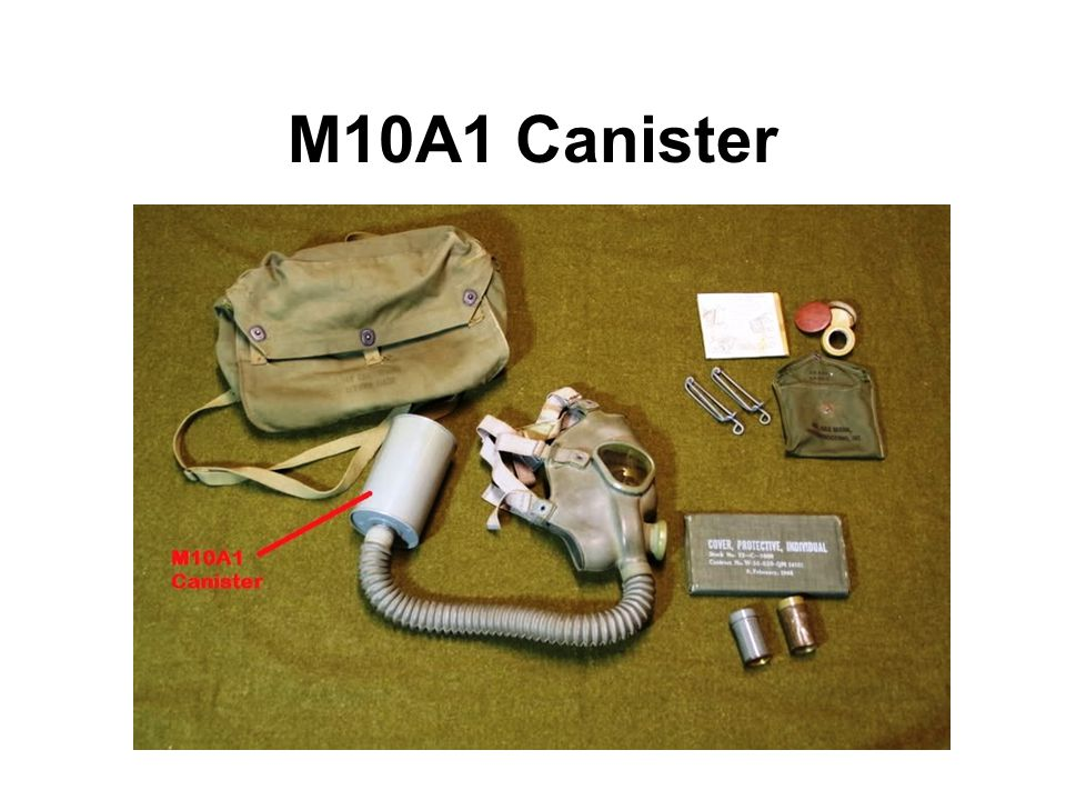 M10A1 Canister