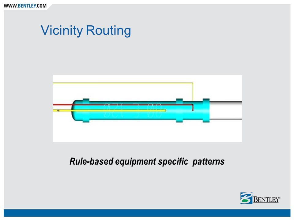 Vicinity Routing Rule-based equipment specific patterns