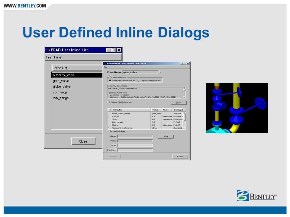 User Defined Inline Dialogs