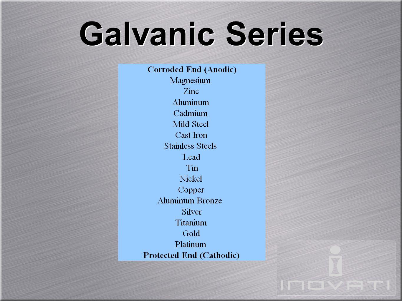 Galvanic Series