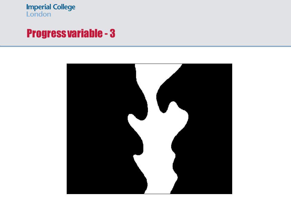 Progress variable - 3 Slide 22