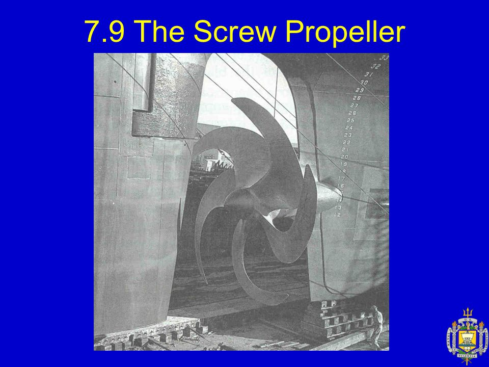 7.9 The Screw Propeller