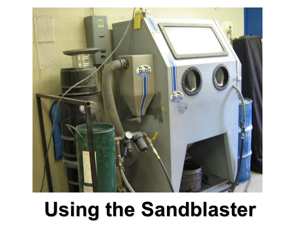 Using the Sandblaster