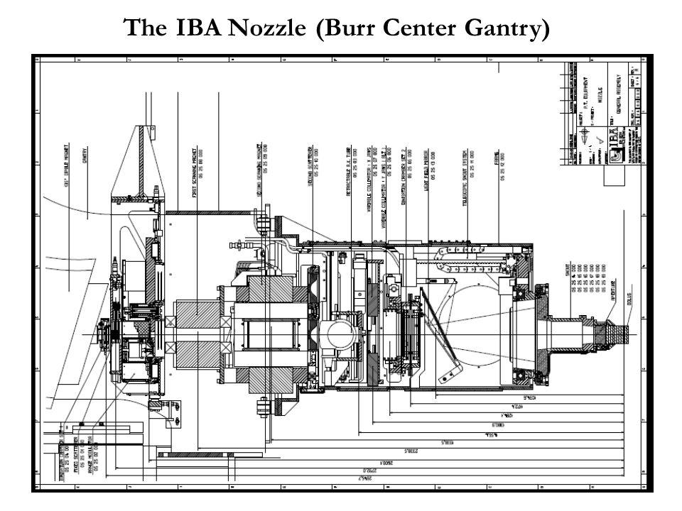 The IBA Nozzle (Burr Center Gantry)