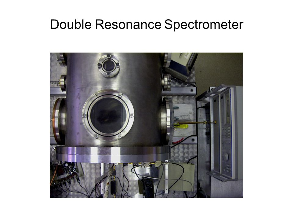 Double Resonance Spectrometer