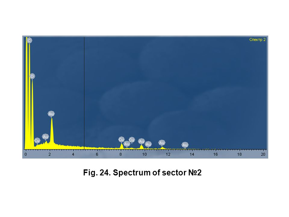 Fig. 24. Spectrum of sector №2