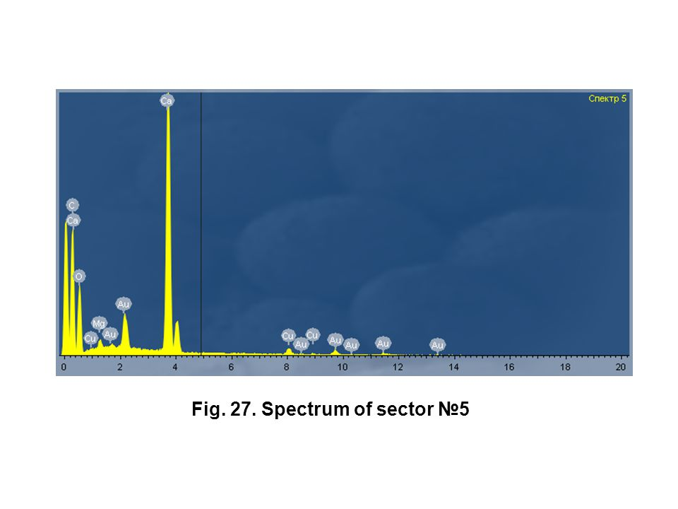 Fig. 27. Spectrum of sector №5