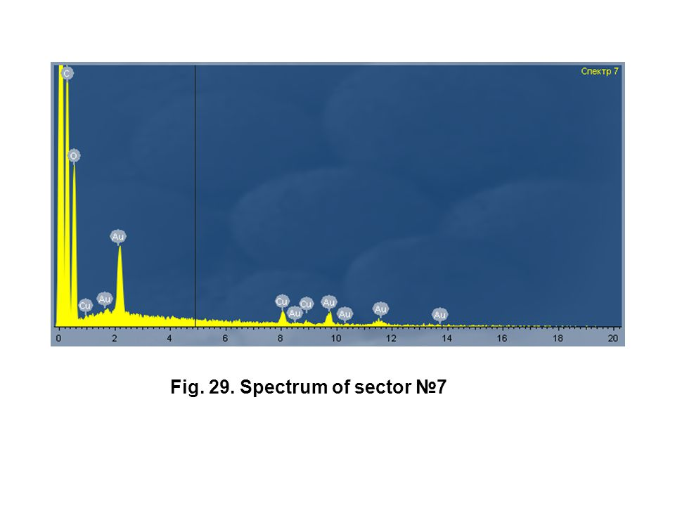 Fig. 29. Spectrum of sector №7