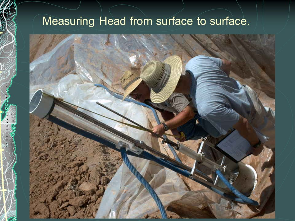 Measuring Head from surface to surface.