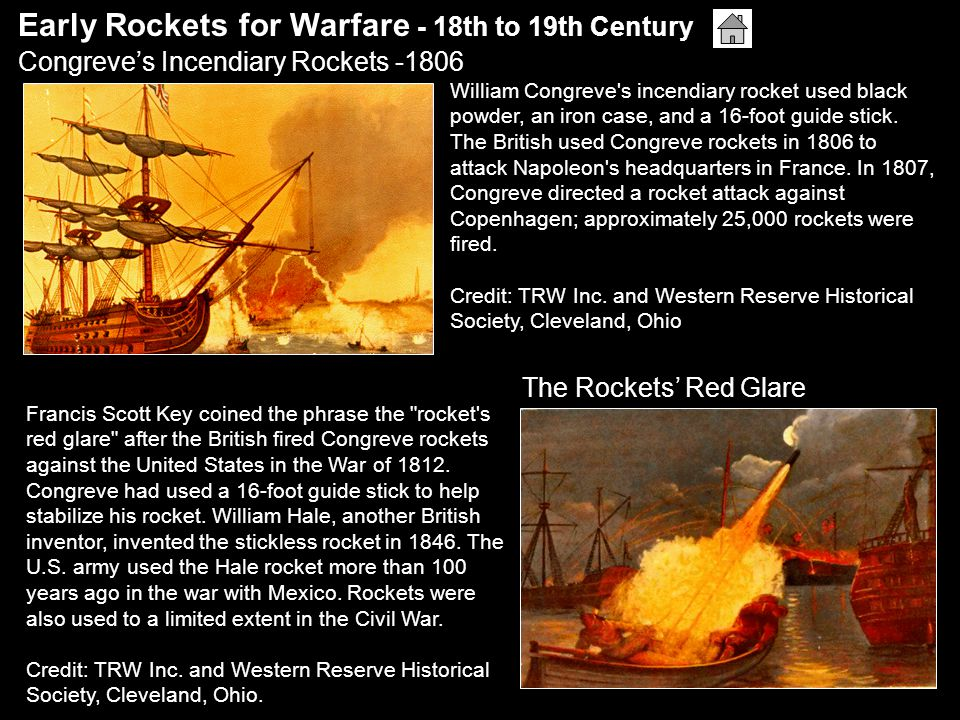 As far back as 1821, sailors hunted whales using rocket-propelled harpoons.