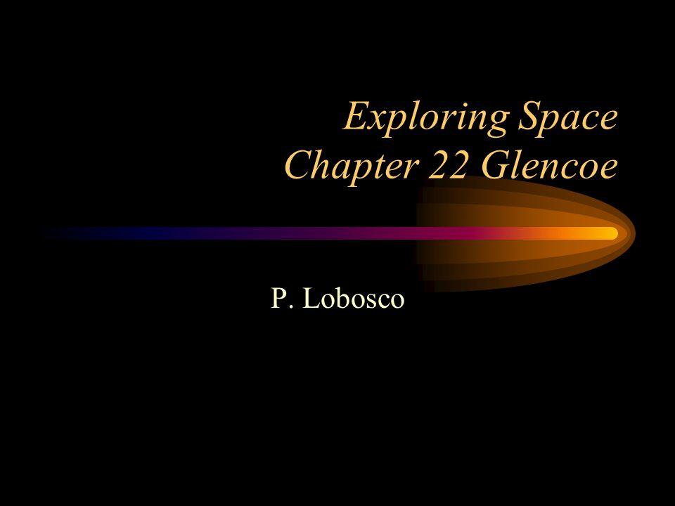 Exploring Space Chapter 22 Glencoe P. Lobosco