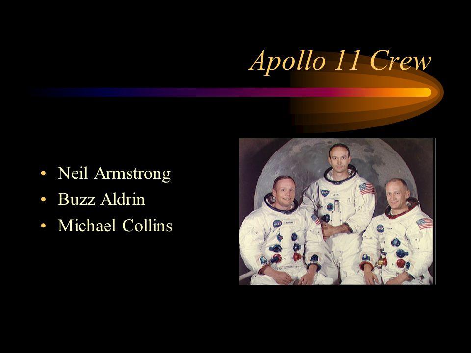 Apollo 11 Crew Neil Armstrong Buzz Aldrin Michael Collins