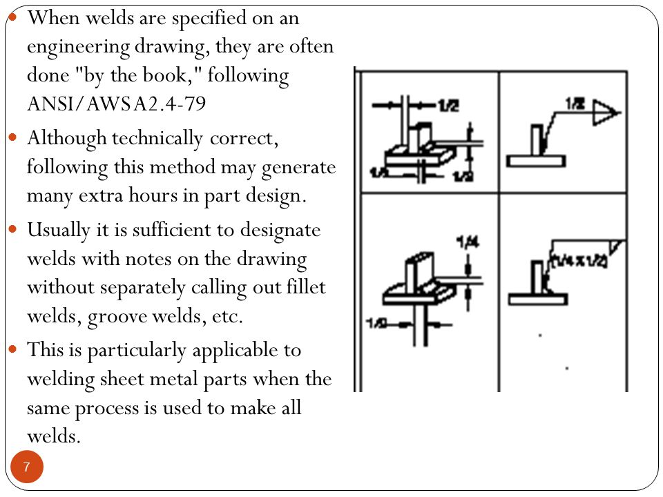 Tolerancing Considerations For economy, squareness also should not be overspecified.