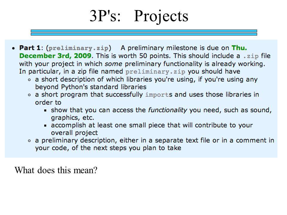 End of example presentation Phew!