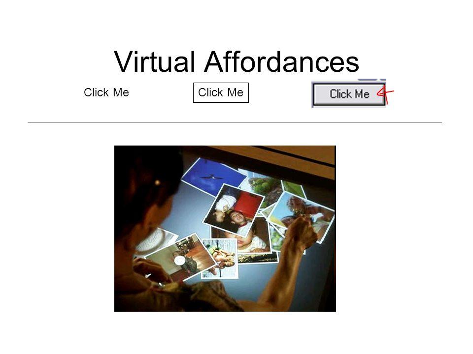 Virtual Affordances Click Me