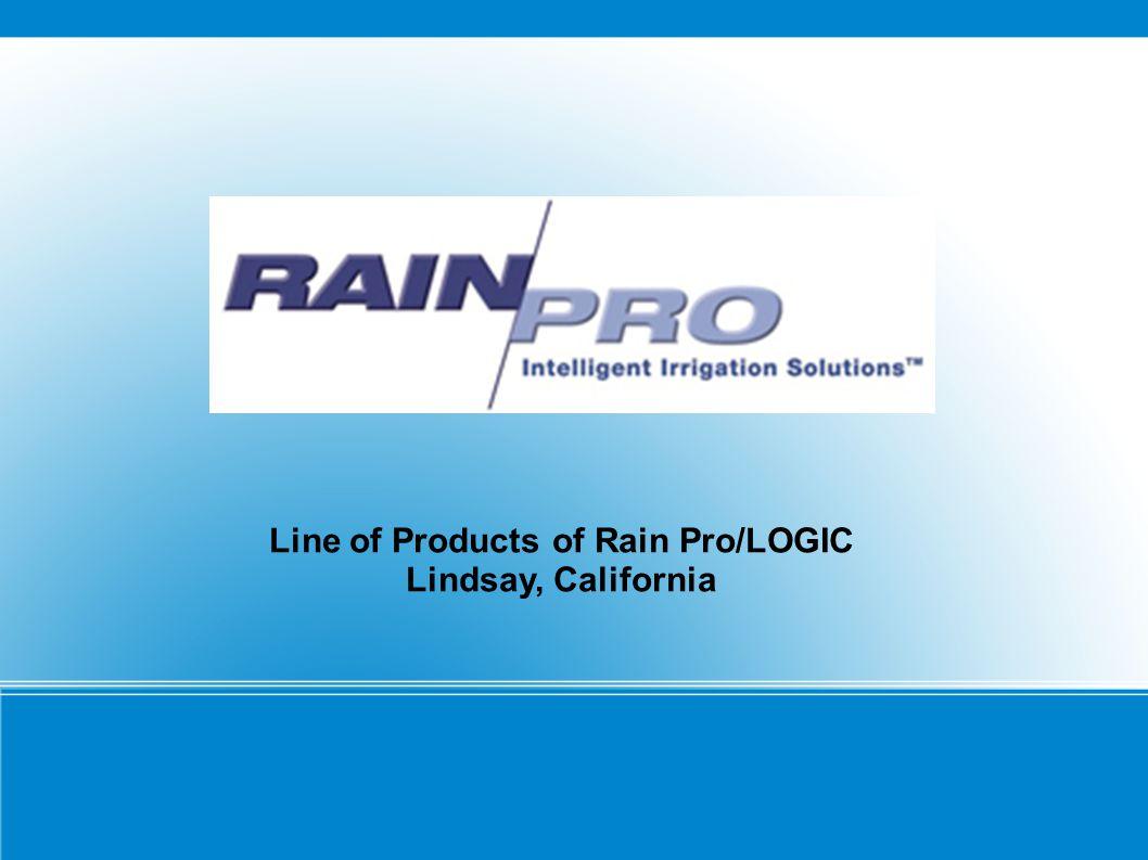 RAIN/PRO 500 Series Straight Flow Valve