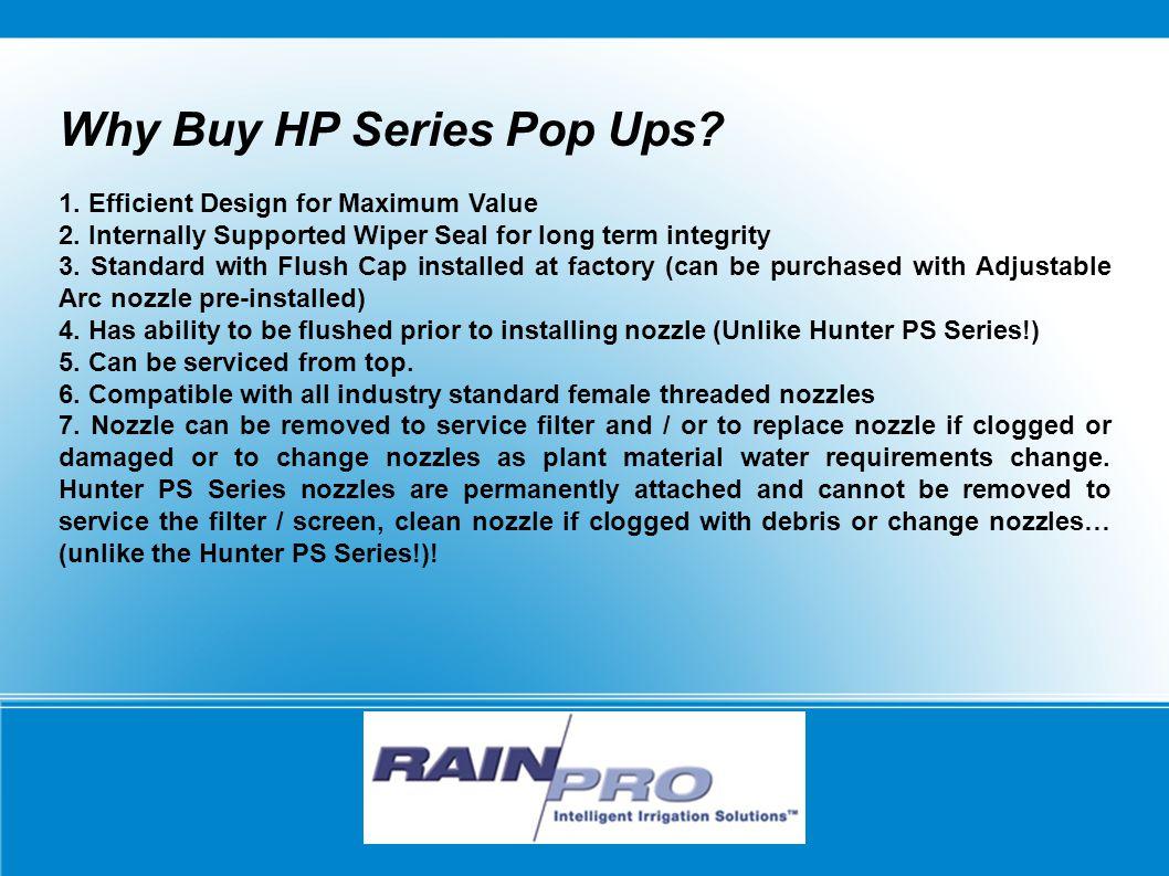 Why Buy HP Series Pop Ups. 1. Efficient Design for Maximum Value 2.