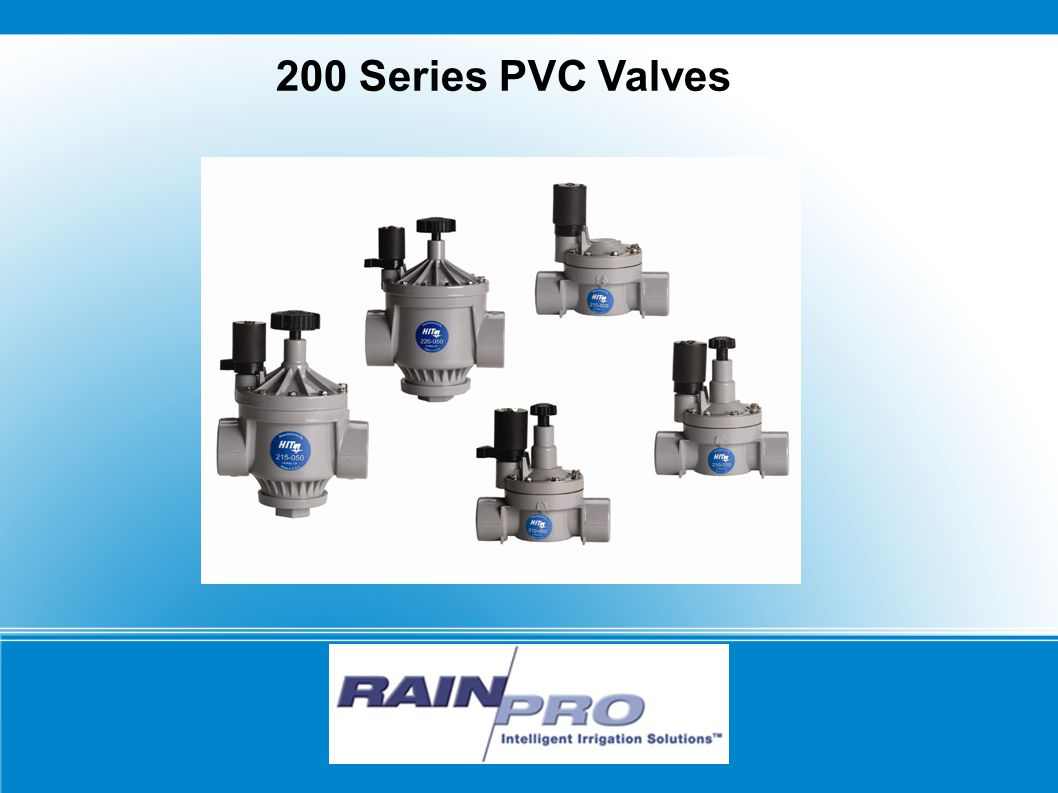 200 Series PVC Valves